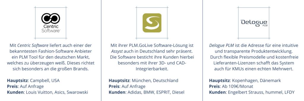 PLM software vergleich